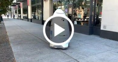Security Robot In San Francisco